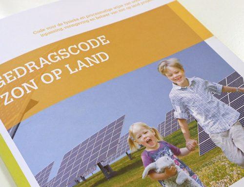 NWEA feliciteert de zonnesector met de gedragscode Zon op Land