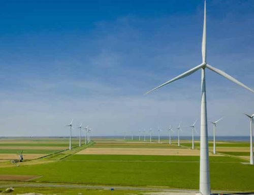Hoogtebeleving van windmolens