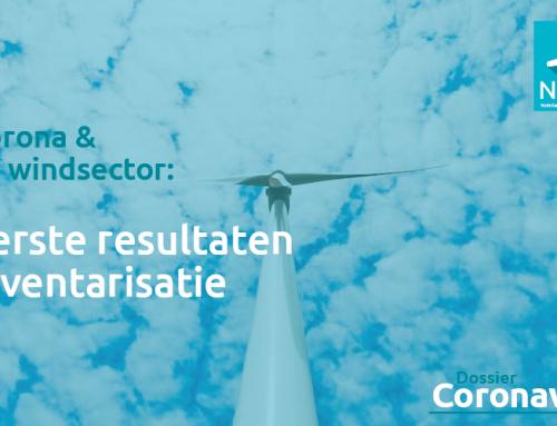 Corona in de windsector: eerste resultaten ledeninventarisatie