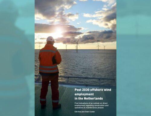 Ook na 2030 flinke groei in werkgelegenheid offshore wind sector