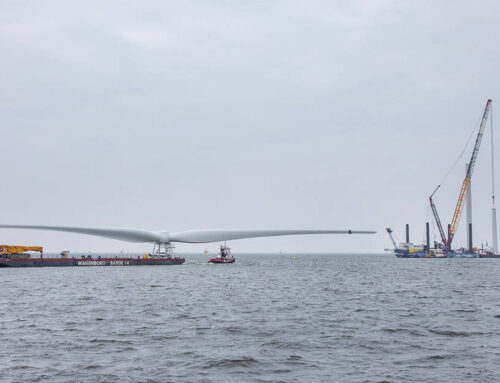 Windpark Fryslân start met opbouwen windturbines