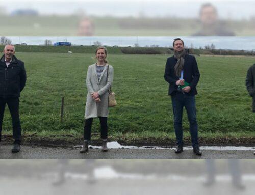 Werkbezoek Kandidaat Tweede Kamerlid CDA Jantine Zwinkels aan Windpark Bommelerwaard-A2