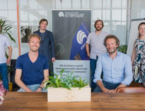 Kitepower haalt investering van € 3 miljoen op voor opwekken energie met vliegers