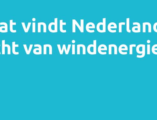 Wat vindt Nederland écht van windenergie?